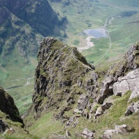 Traverse of the Aonach Eagach Ridge