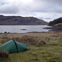 Along Loch Ericht to Ben Alder Cottage