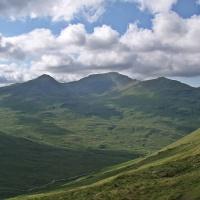 Three Glen Lochay Munros