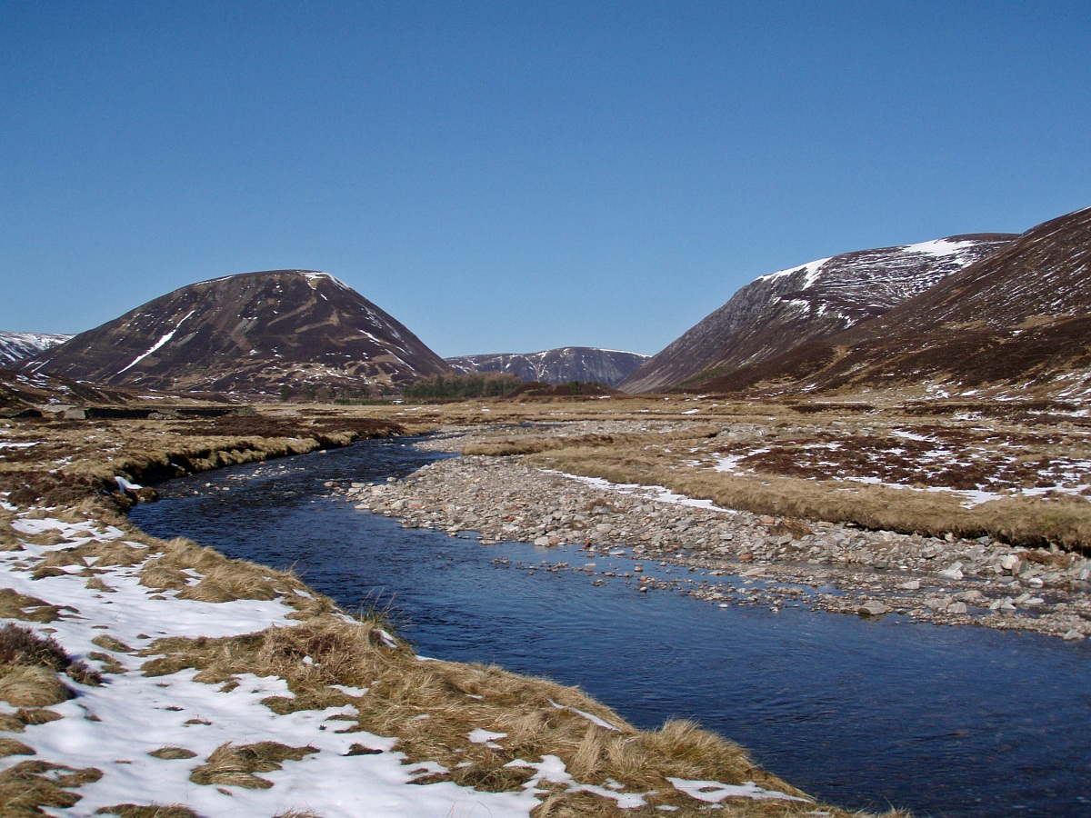 Bruar to Kingussie via the Gaick Pass